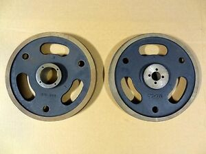 Image of SET-OF-MARVEL-HORIZONTAL-REPLACEMENT-BAND-SAW-WHEELS-MODEL-A10 by Sunrise Surplus