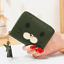 thumbnail 3 - Girls Womens Small PU Leather Short Wallet Cards Holder Coins Purse Lady Handbag
