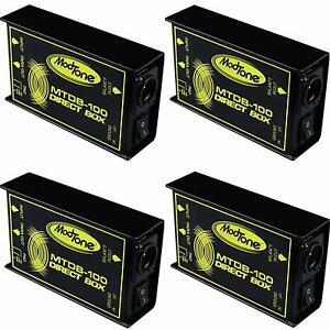 (4) Nouveau Modtone Mtdb - 100 Direct Box Pro Di Livraison Gratuite Auth Dealer!-afficher Le Titre D'origine Remise GéNéRale Sur La Vente 50-70%