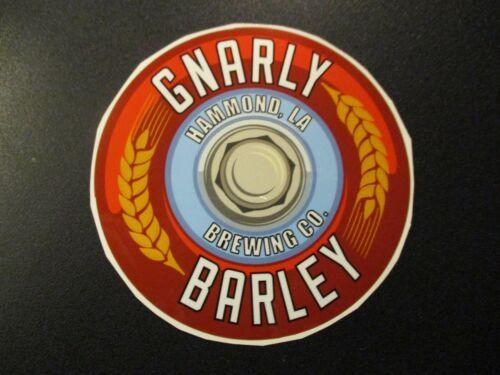 GNARLY BARLEY BREWING Hammond Louisiana Jucifer STICKER decal craft beer brewery