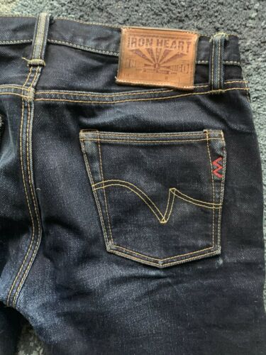 Iron Heart IH-666Sll Jeans Size 33