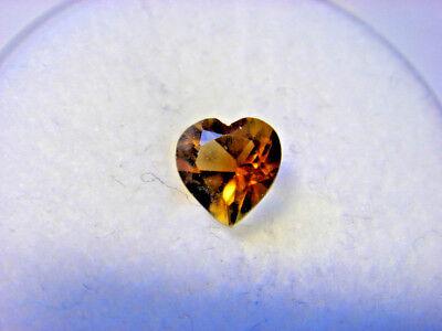 Citrine Pear Cut Gemstone 6 mm x 4 mm 0.40 carat Gem Yellow Stone
