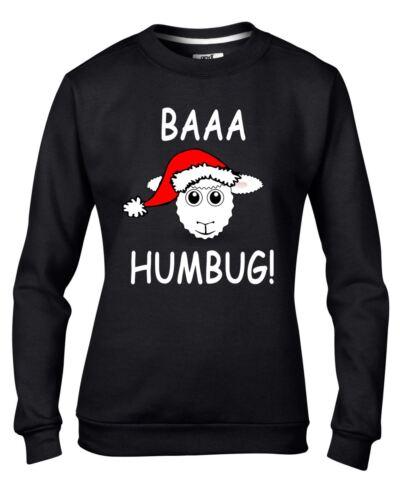 BAAA fumisterie moutons avec bonnet de Père Noël Noël Drôle Femme Sweat