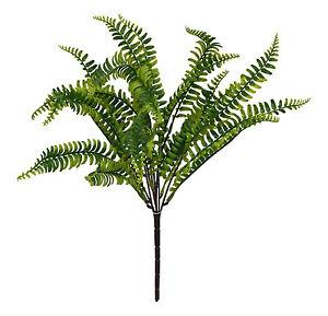 Boston fern 19 bush greenery filler silk flowers centerpieces image is loading boston fern 19 034 bush greenery filler silk mightylinksfo
