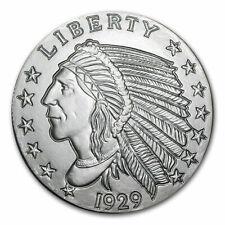 SKU #149354 2 oz Silver Round Incuse Indian