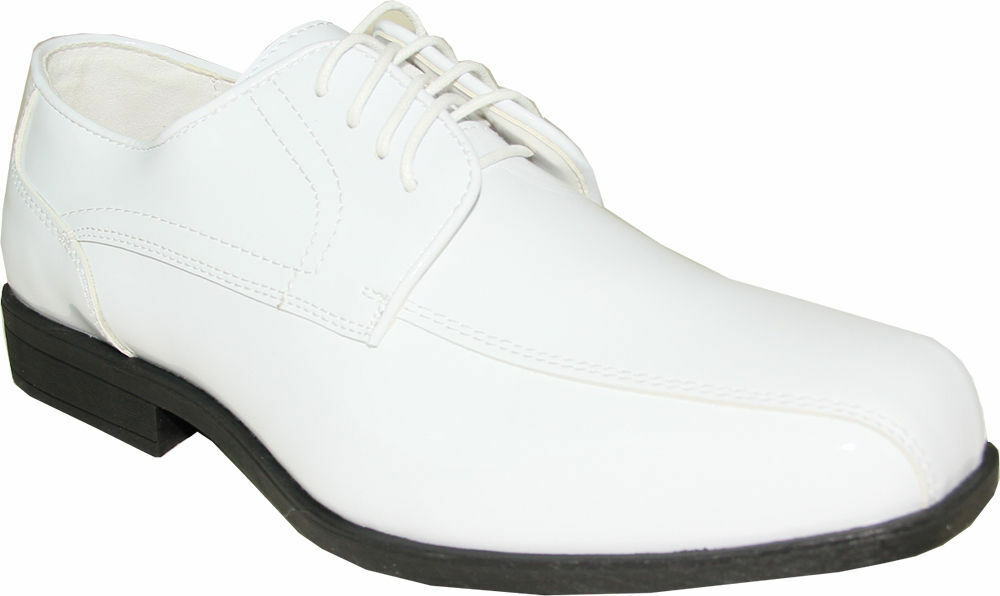 Jean Yves JY02 Dress shoes Double Runner Tuxedo for Formal Event White Patent