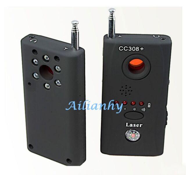 Anti-Spy RF Signal Bug Detector Hidden Camera Laser Lens GSM Finder CC308+ Hot y