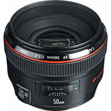 Canon EF 50mm f/1.2 USM Lens Brand New With Shop Agsbeagle
