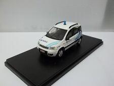 delta models sc1/43 fiat panda polizia locale belga