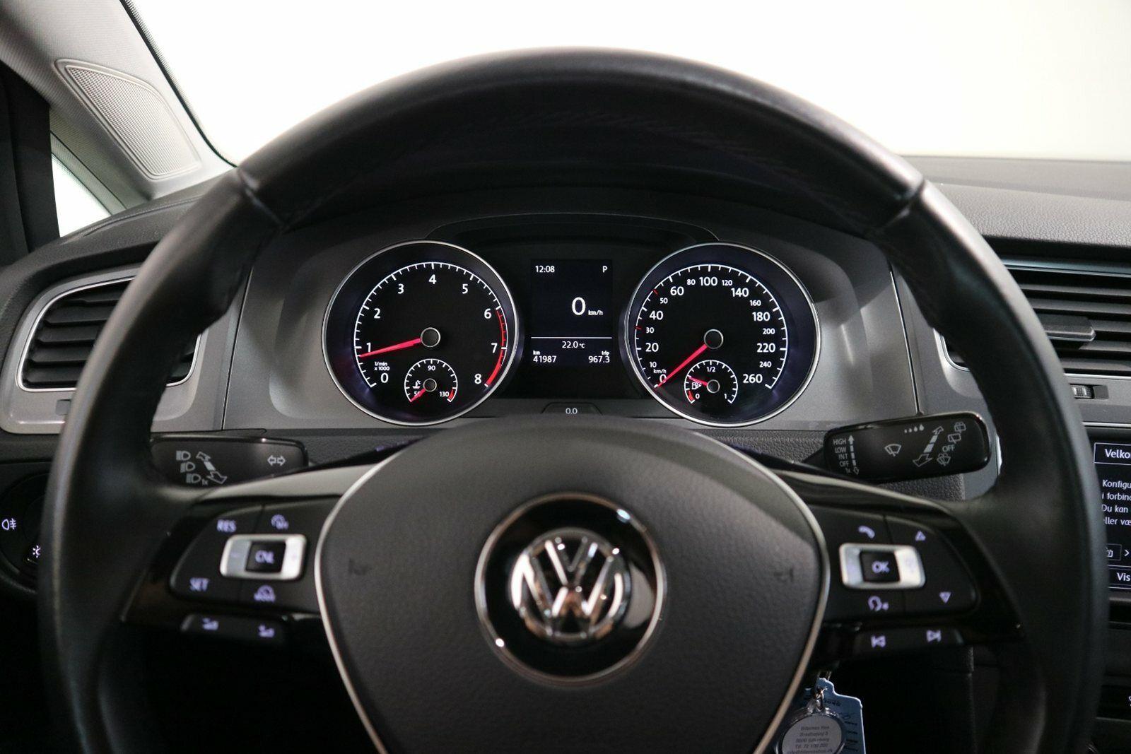 VW Golf VII 1,4 TSi 125 Style DSG BMT - billede 8