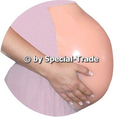 2020 Belly Month Pregnant Pregnancy Baby Bump Silicone Premium Prosthetics Tummy