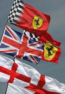 Race-day-flags-Ferrari-Men-039-s-activity-Blank-greetings-cards-Image-2-Cards
