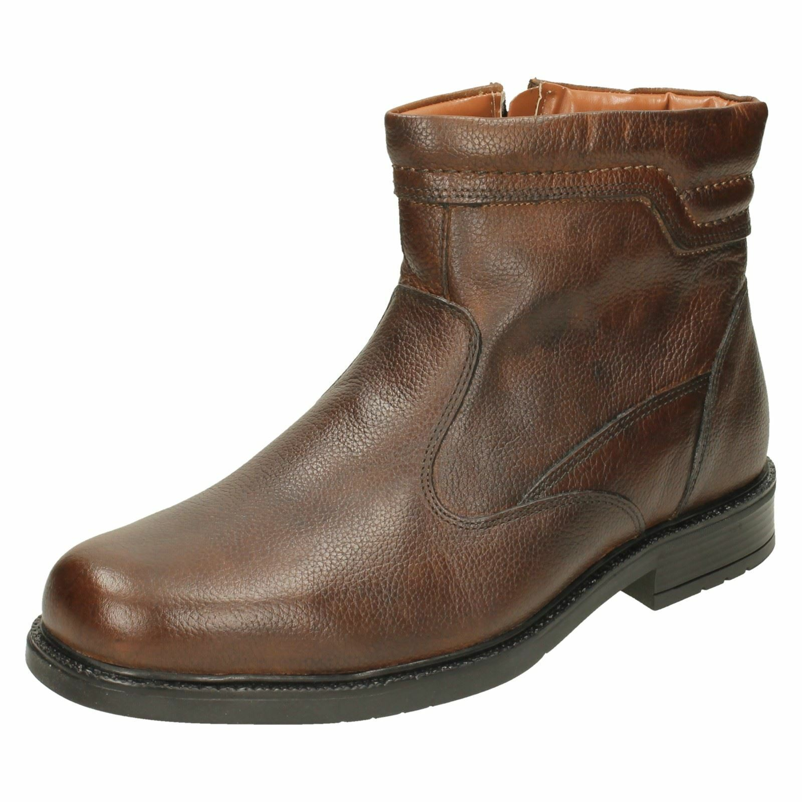 Mens Catesby Zip Fastened Ankle Boots