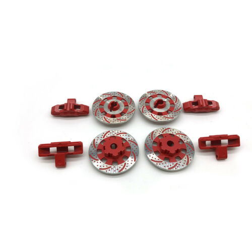 4X Aluminum Brake Disc Caliper Hub For 1//7 RC TRAXXAS UDR Unlimited Desert Racer