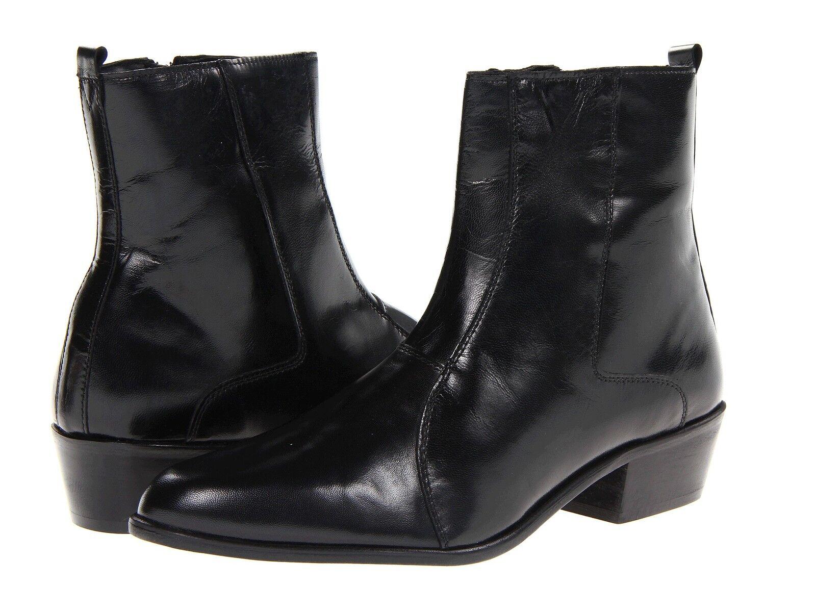 tutto in alta qualità e prezzo basso Stacy Adams Uomo SANTOS Slip-on leather nero nero nero stivali 24855-001  offrendo il 100%