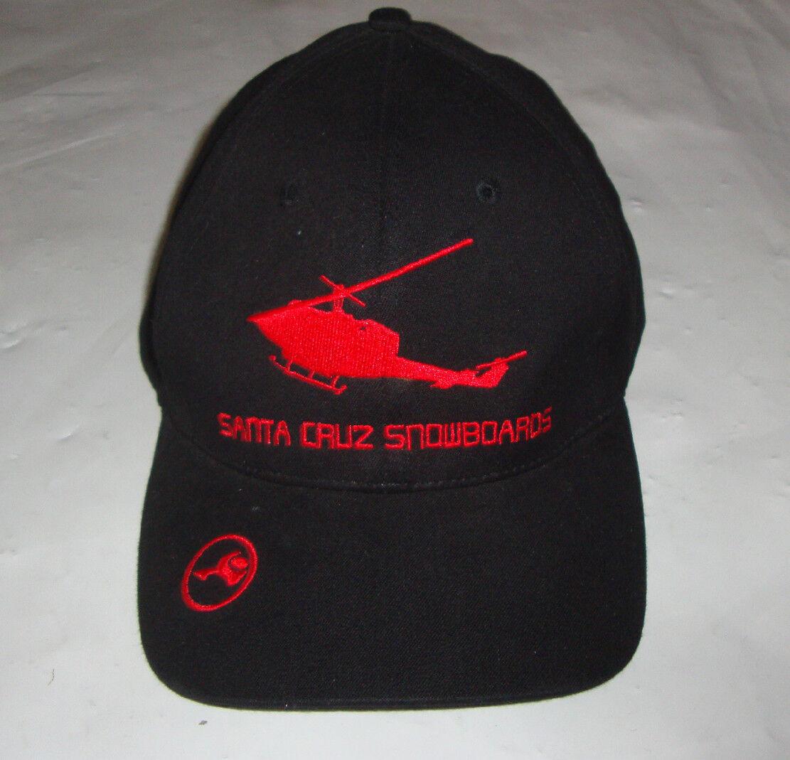 SANTA CRUZ  - Heliboarding Original '90s  Snowboard Cap - S M - Rare Sample