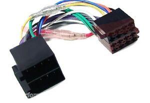 Radio-Adapter-Kabel-ISO-Stecker-Mercedes-Benz-Smart-Peugeot-Renault-Citroen-Fiat