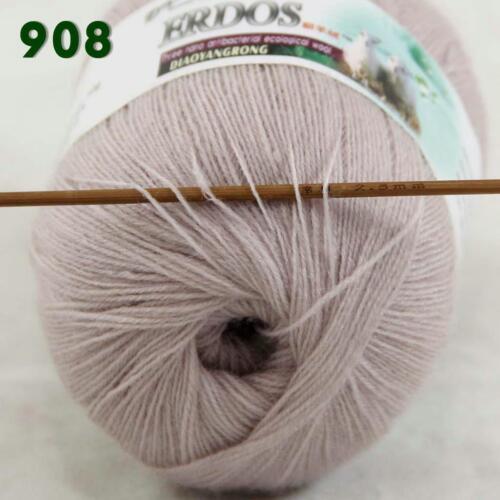 6 Ballons X 50 g Doux Crochet Acrylique Laine Cachemire main Knitting Yarn Knitwear 08