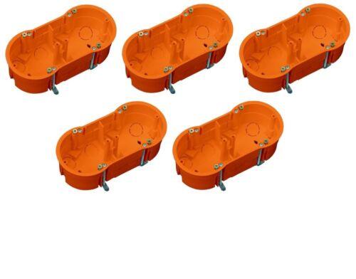 Hohlwanddose Schalterdose Gerätedose Abzweigdose 5,10 20er Pack für Trockenbau