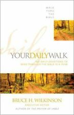Walk Thru the Bible: Your Daily Walk : 365 Daily Devotions to Read Through the Bible in a Year by Inc. Staff Walk Thru the Bible Ministries, Bruce Wilkinson and Zondervan Staff (1991, Paperback)