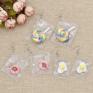 Lovely-Lollipop-Candy-Earrings-Drop-Dangle-Stud-Ear-Women-Cute-Jewelry-1-Pair