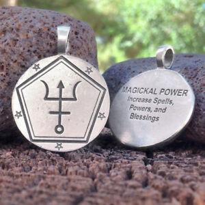 Details about NEW Magickal Power Spell Coin Pendant by Christopher Penczak  Deva Designs Pewter