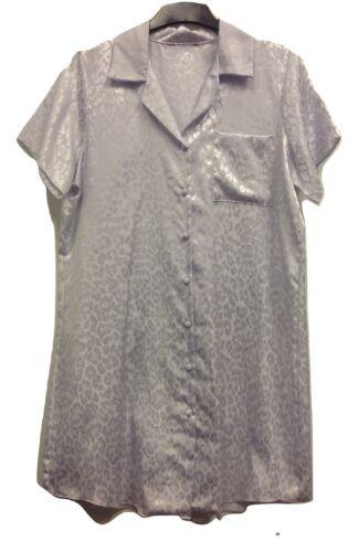 LADIES EX STORE WARM BRUSH SATIN NIGHT SHIRT//NIGHT DRESS UK SIZE 10//12
