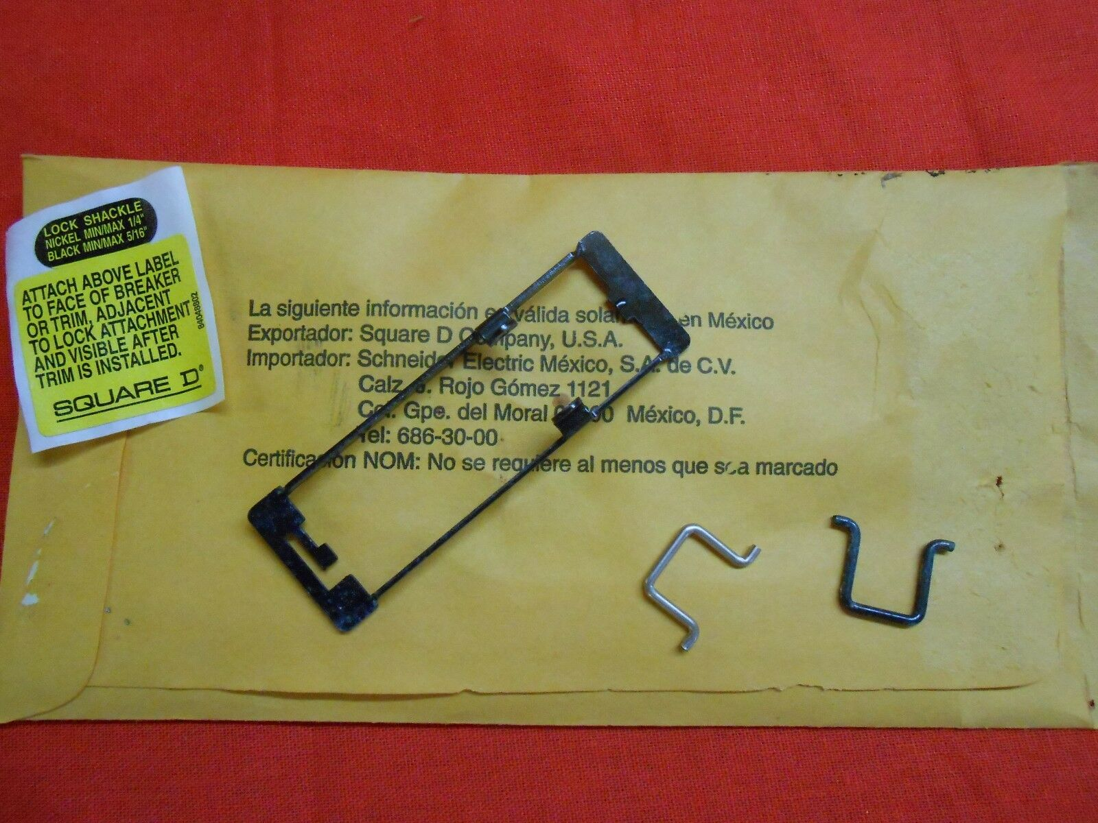 New HOM1PA Square D Homeline Padlock Attatchment