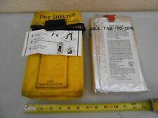 Fss Nfpa 1977 Wildland Fire Shelter Fighting Pack Cartridge W Case Sealed Mfr 93