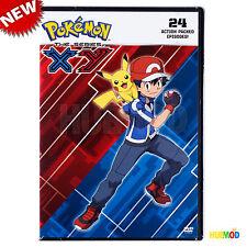 Pokemon The Series : XY Set 1 DVD, 3-Disc Set, 24-Action Packed Episodes NEW