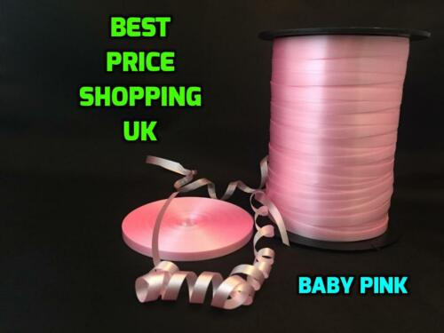 NEW MASSIVE COLOUR SELECTION STOCKED 5MM wide 50 metres florist poly ribbon