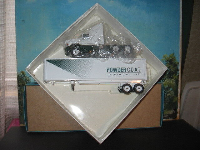 WINROSS 1 64 POWDERCOAT TECHNOLOGY INC. TRACTOR AND TRAILER