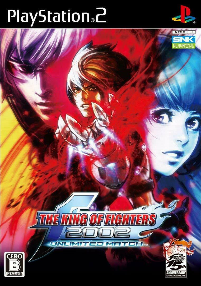 The King Of Fighters 2002 Unlimited Match Ps2 Playstation 2 Pre