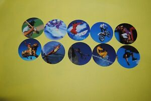 048 pogs pog caps milkcaps flippo : lot de 10 skippies