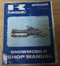 Kawasaki Intruder ST440 A2 Snowmobile Shop Manual