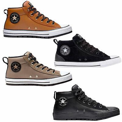 Converse Chuck Taylor all Star Street mid Men's Trainer Shoes Medium Leder | eBay