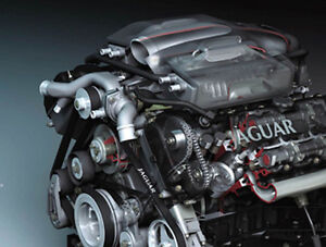 Jaguar XJR 1998-2008 Performance Supercharger Pulley Mod Upgrade 25HP + 12%