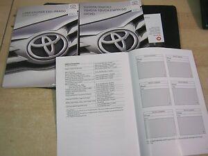 toyota land cruiser 150 prado owners manual handbook 2014 2017 rh ebay co uk 2014 toyota land cruiser owners manual pdf 2013 Toyota Land Cruiser