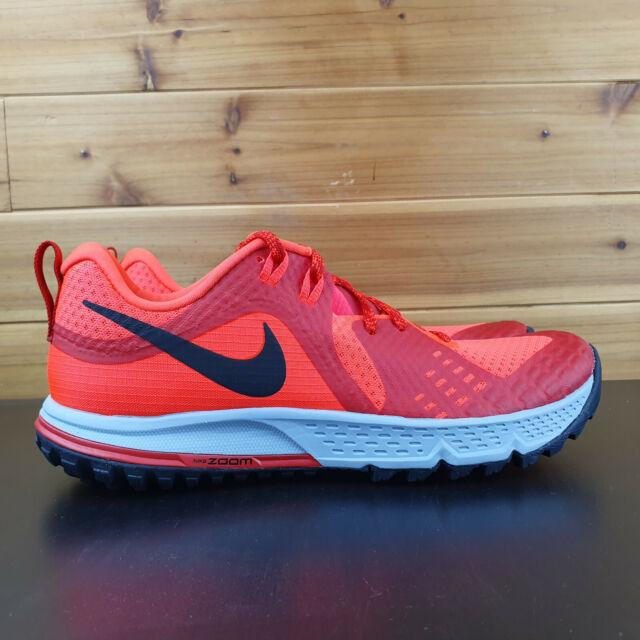 Nike Air Zoom Wildhorse 5 Crimson Men'sTrail Running Shoes AQ2222-600 New In Box