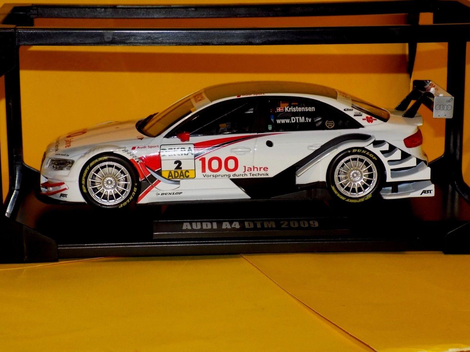 Audi A4 DTM   2 DTM 2009 KRISTENSEN  NOREV 188329  1 18