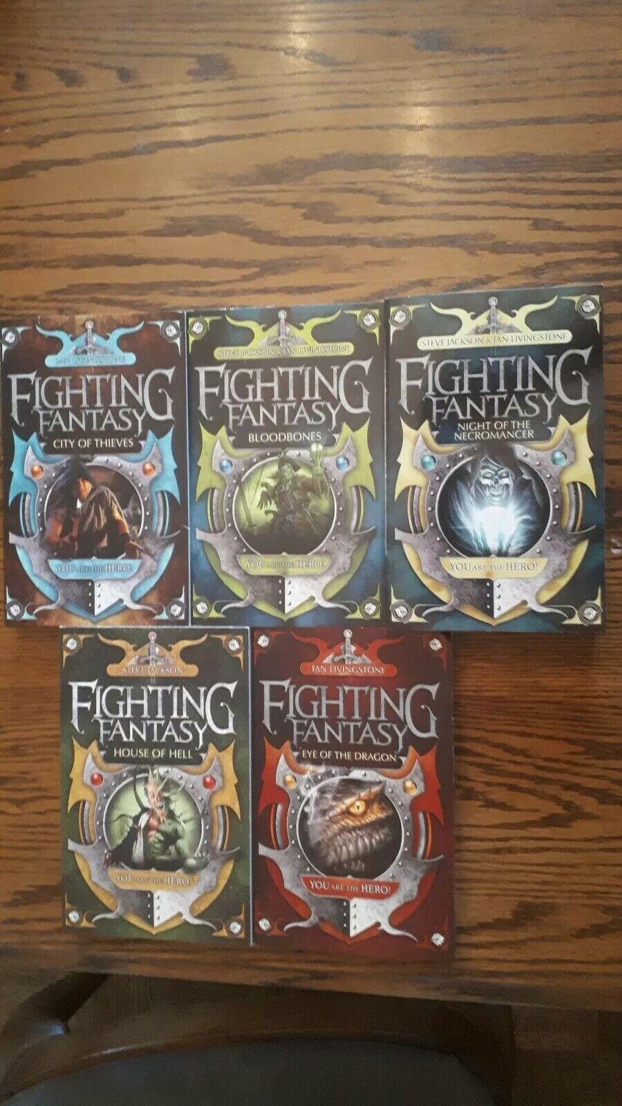 Lote De Libros RPG de fantasía lucha nuevo 2009