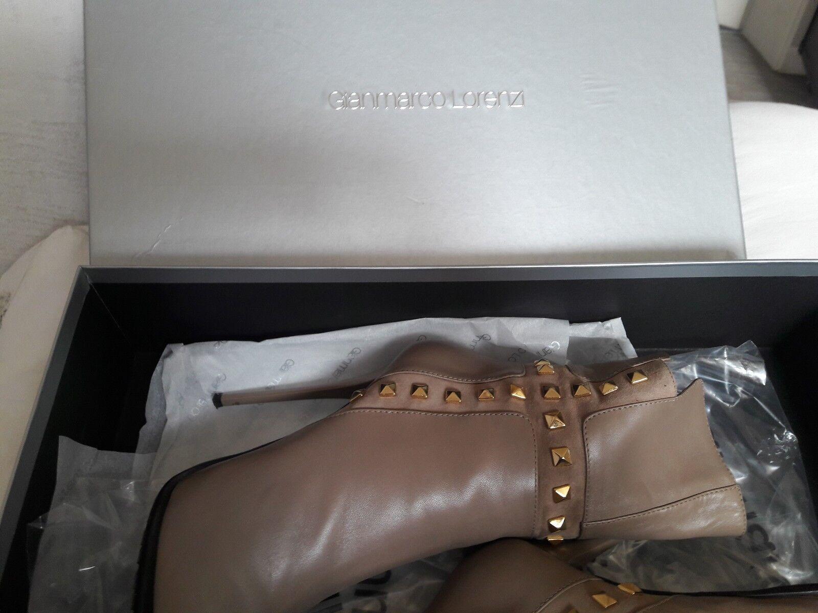 Gianmarco Gianmarco Gianmarco Lorenzi botines de cuero talla 37  barato y de alta calidad