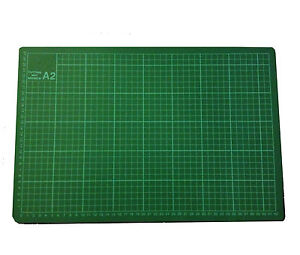 A2-Thick-5-Ply-Self-Healing-Craft-Cutting-Mat-2-Side-Print-Quilting-Scrapbooking