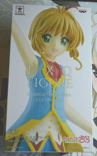 NIB Banpresto EXQ Figure CardCapter Sakura Clear Card Sakura Kinomoto F//S