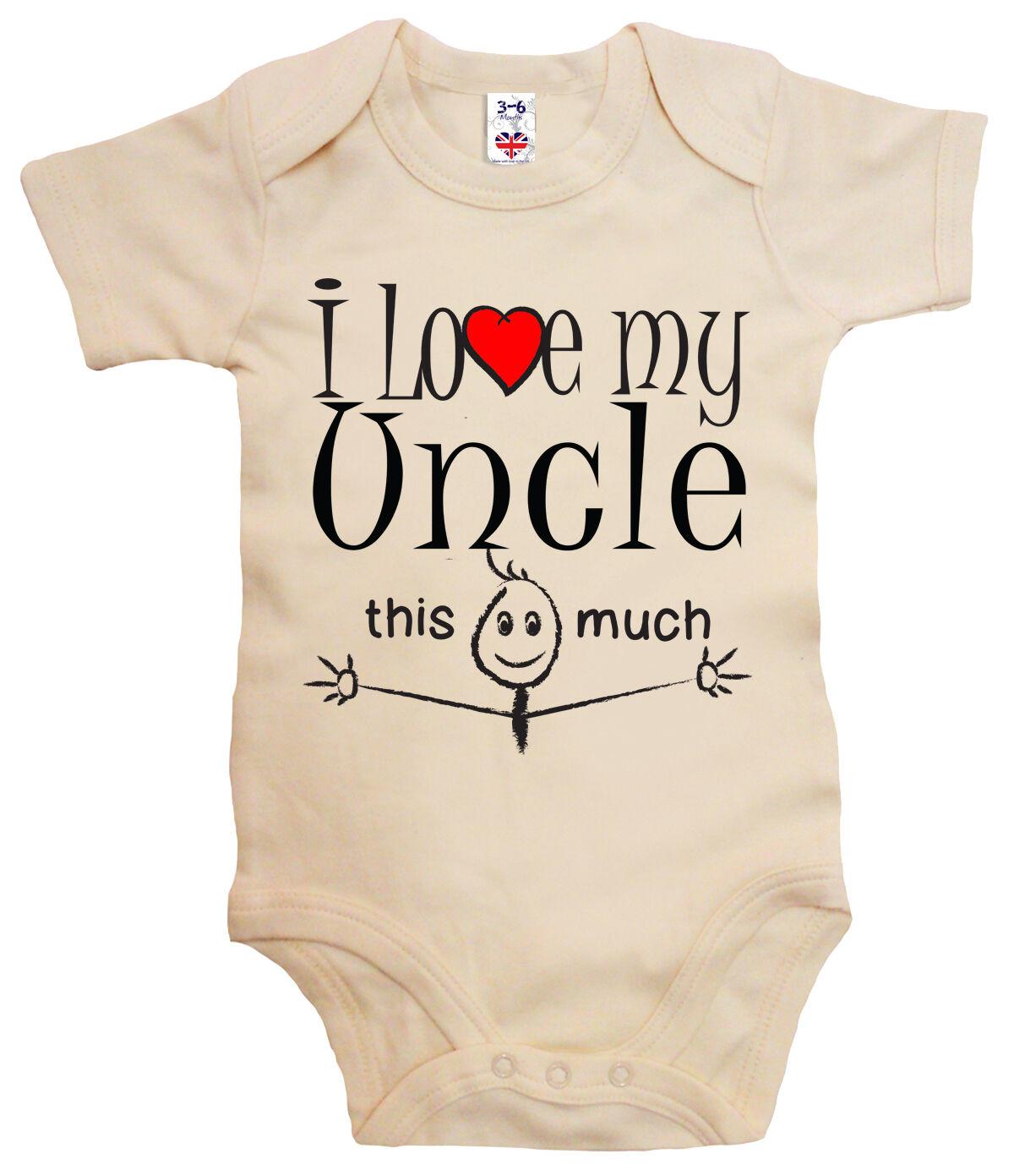 I Love My Bruder Dieses Viel Wunderschön Personalisiert Baby Westen Body Unisex