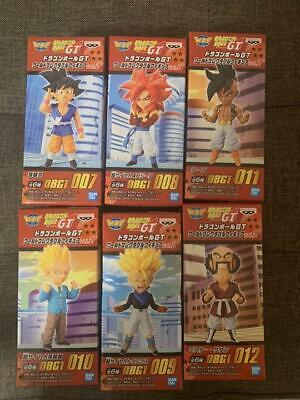 Dragon Ball GT World Collectable Figure WCF vol.2 All Set of 6 Banpresto