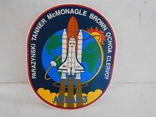 "NASA Space Shuttle Mission STS 81 MIR Atlantis OV-104 Decal Sticker 4.75/"""