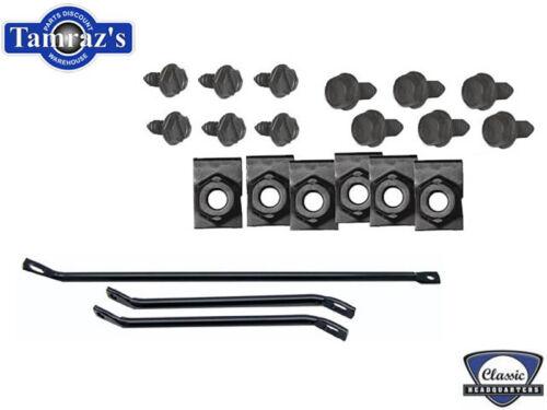 67-68 GM F Body Front Spoiler Brackets /& Hardware Kit