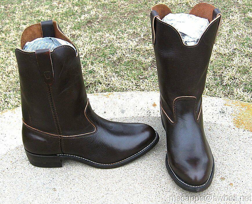 Nuevo Walker botas de vaquero para hombre 9'.EE