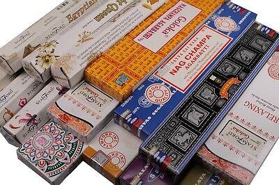 FREIE AUSWAHL oder als Mix Paket 6 Pack a 20 Stück HEM Räucherstäbchen